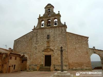 Enebral, Ermita Hornuez–Villa Maderuelo; viajes en verano; fotos senderismo